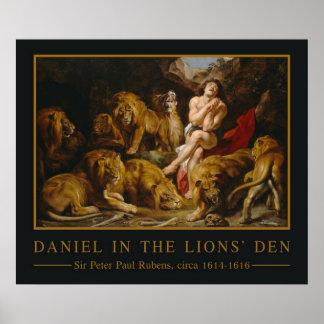 Lions' Den art poster