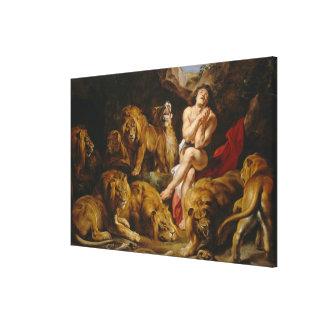 Lions' Den canvas print