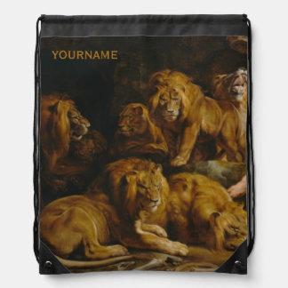 Lions' Den custom backpack