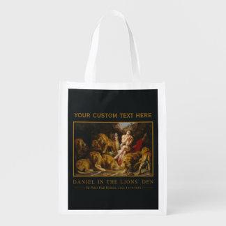Lions' Den custom reusable bag