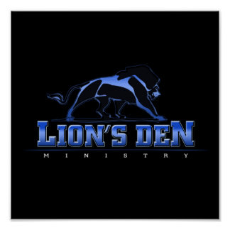 Lions Den Ministry Poster