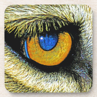 Lions Eye Close Up (2) Drink Coaster