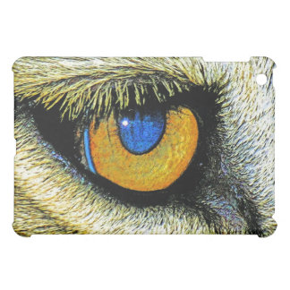 Lions Eye Close Up 2 Cover For The iPad Mini
