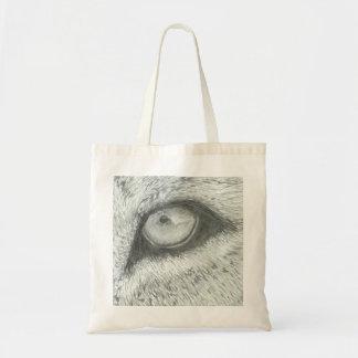 Lion's Eye   Customizable Budget Tote Bag