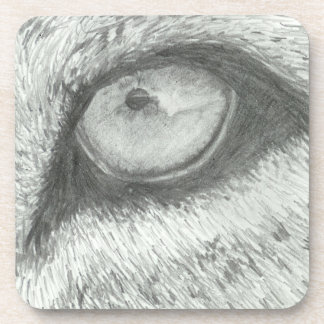 Lion's Eye   Customizable Coaster