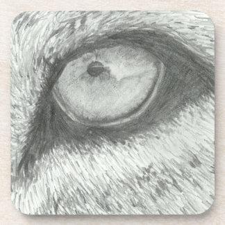 Lion's Eye   Customizable Drink Coaster