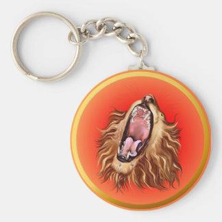 Lion's Face Keychain