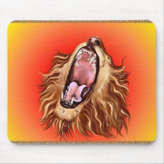 Lion's Face Mousepad