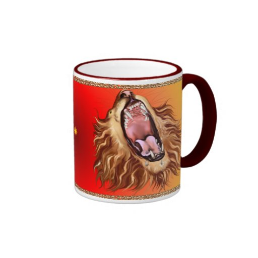 Lion's Face Mug