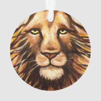 Lion's Face Ornament