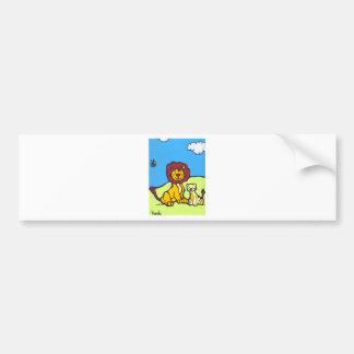 Lions Family Bumper Sticker