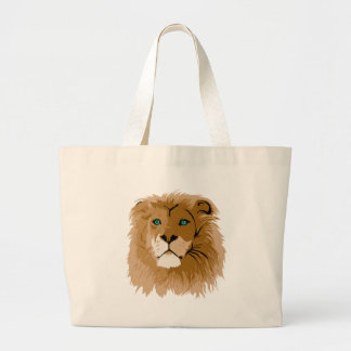 Lion's Head Canvas Bag