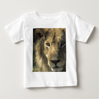 Lion's head, male, close up, baby T-Shirt