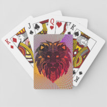 Lion's Head Playing Cards