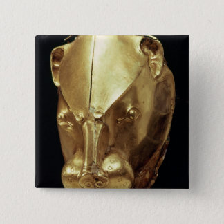 Lion's head rhyton, from Grave IV Pinback Button