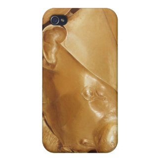 Lion's head rhyton iPhone 4/4S cover