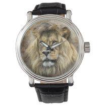 Lions Head Watch