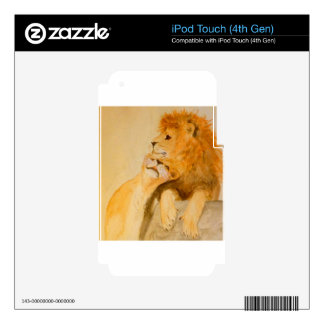 Lions in Love #1.jpg iPod Touch 4G Decal