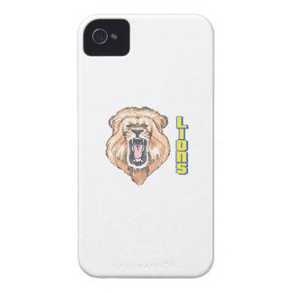 LIONS MASCOT Case-Mate iPhone 4 CASES