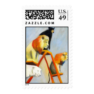 Lions -n- Bears Stamps