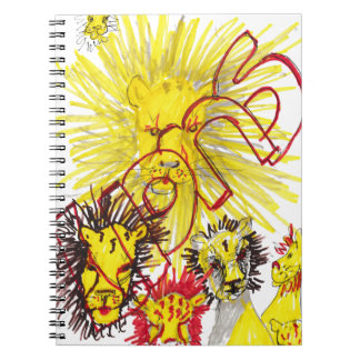 """Lions"" Note Book"
