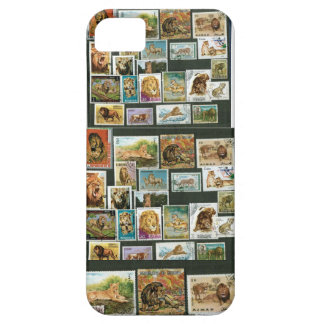 Lions on stamps All iPhone SE/5/5s Case