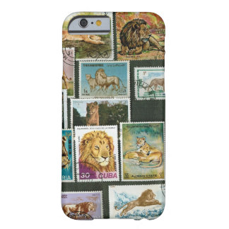 Lions on stamps barely there iPhone 6 case