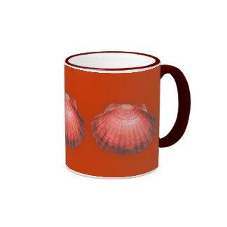 Lions Paw Ringer Coffee Mug