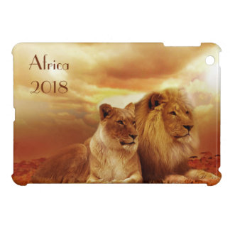 Lions relaxing in Africa iPad Mini Covers