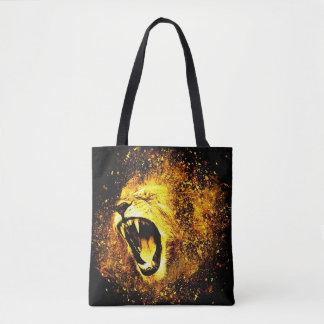 Lion's Roar Tote Bag