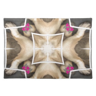 Lion's share cloth placemat