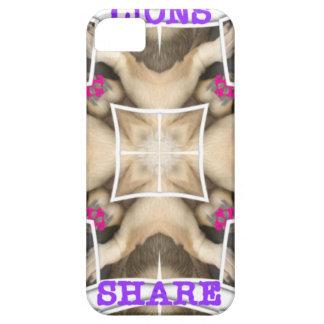 Lion's share iPhone SE/5/5s case