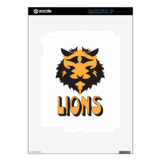 LIONS SKIN FOR THE iPad 2