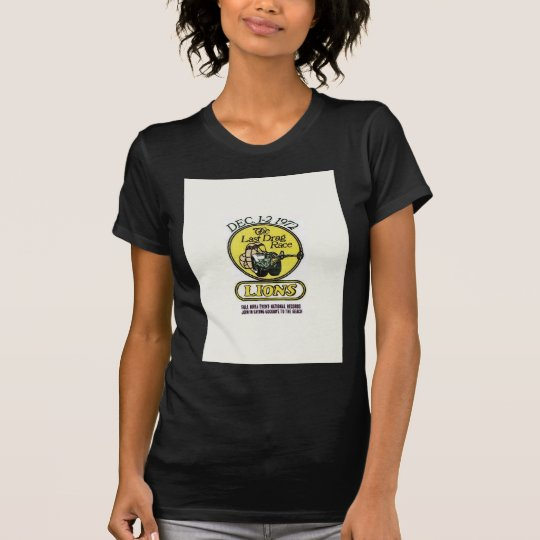 Lions The last race T-Shirt