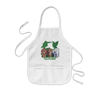 Lions Tiger Bears Oh My Kids' Apron