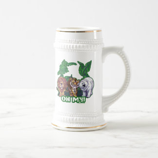 Lions Tiger Bears Oh My Beer Stein