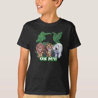 Lions Tiger Bears Oh My T-Shirt