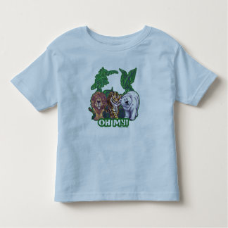 Lions Tiger Bears Oh My Toddler T-shirt