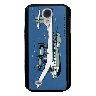 Liore & Oliver Plane Samsung S4 Case