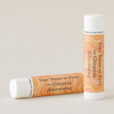 Professional Business Lip Balm - Warm Orange Curves