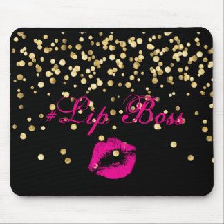 Lip Boss Mouse Pad