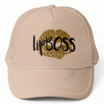 Lip BOSS Trucker Hat