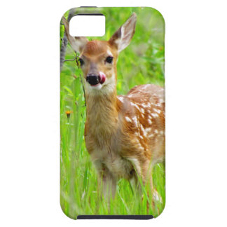 Lip Licking Fawn iPhone SE/5/5s Case