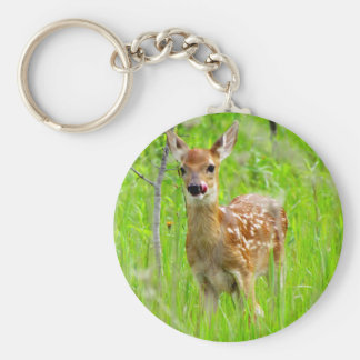 Lip Licking Fawn Keychain