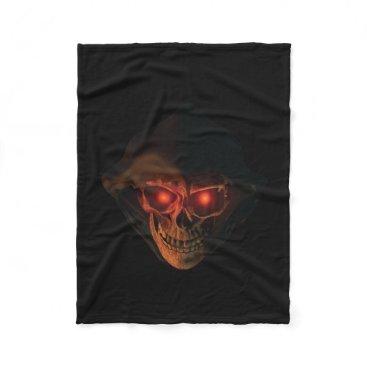 Halloween Themed LIP REAPER HEAD BLANKET_3 FLEECE BLANKET