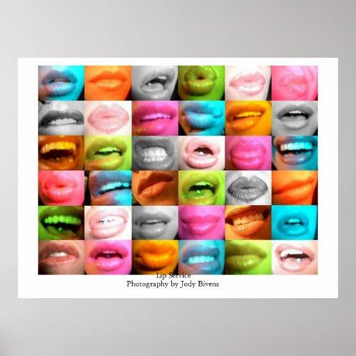 Lip Service Posters