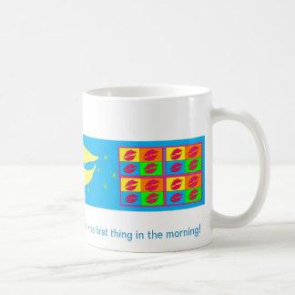 Lip Smack Kiss Coffee Mug