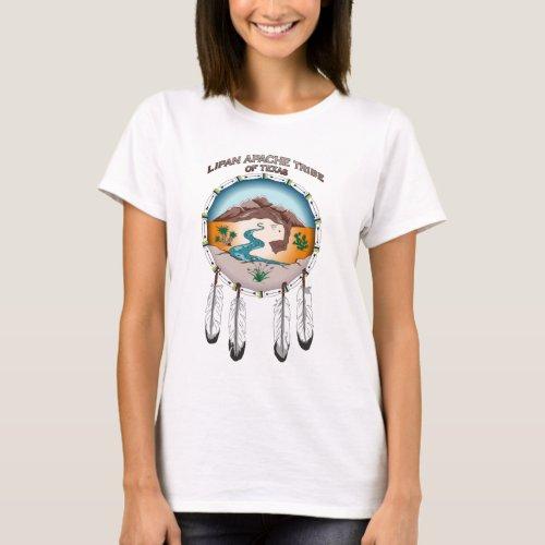 Lipan Apache Tribe of Texas Womens Basic T_Shirt