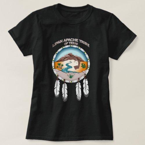 Lipan Apache Tribe of TX Womens Basic Dark TShirt