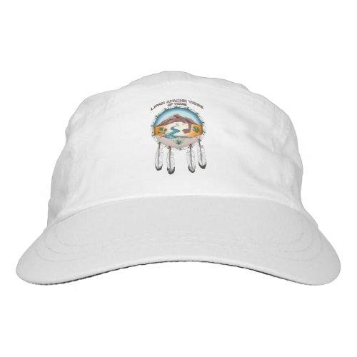 Lipan Apache Tribe of TX Woven White Cap